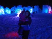 Ice Castle Opening Day Lincoln NH