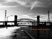 Lift Bridge in Hamilton
