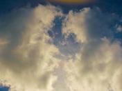 """Sundog/""""Upside Down Rainbow"""" showing horizon"""