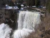 Winter Webster Falls