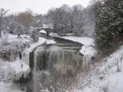 Winter Webster's Falls
