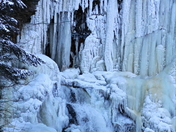 A frozen High Falls