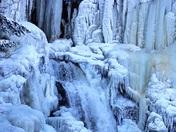 A frozen High Falls
