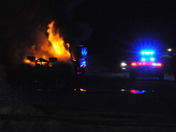 Plow truck fire Rt-97 Haverhill
