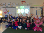 Mrs. Balentines Class celebrates the 100th day of school!!!