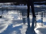A River Silhouette