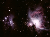 The Orion Nebula and the Running Man