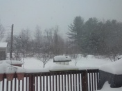Snow storm up in the sticks