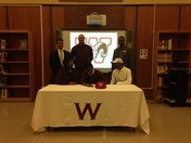 Hasani Brown signs LOI with Newberry College for Football