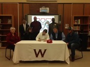 Dylan Richey signs LOI with Newberry College for football