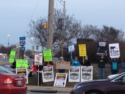Circus Protest    Thank You Bill O'Neil