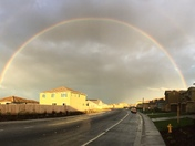 Rainbow in Manteca