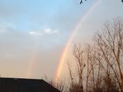 Double rainbow orange ale