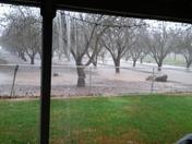 rain in modesto yeah!