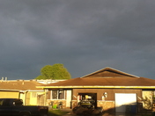 storm clouds over manteca