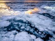 "Abraham Lake ""Ice Bubbles"""