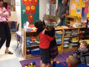 Kindergarten Valentine's Surprise at American Heritage Boca/Delray