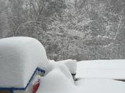 just a little snow