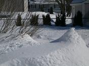 Progressive snowfall
