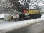 dump truck wreck rt 857