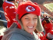 Happy Chiefs Fan! WE WON! San Diego game Dec 2014