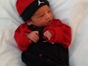 my newborn baby boy he's 2 weeks old today Feb 20 2015