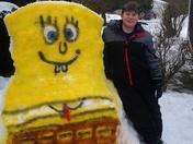 you have heard--turn lemons into lemonade---well, turn snow in