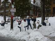 Snow army