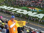 Steeler Nation rocks Daytona. Corey Kehew, Elders Ridge, PA
