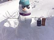 Snowman from Aruba!