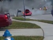 Oviedo car fire in twin rivers
