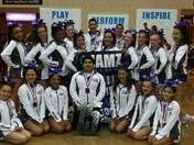 Cheer Odyssey Cosmos Sr level 3 Co-ed National Champions from Stockton