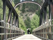 Trans Canada Trail in Princeton