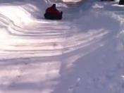 Backyard winter fun