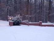 Surprise Snow in Elkin