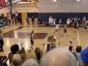 Falmouth Girls Varsity Basketball Buzzer Beater