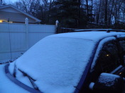 3-5 inches of snow in Mauldin