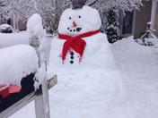 Boston the Snowman