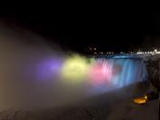 Lights on Niagara Falls