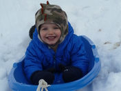 Having Fun Sledding!!!