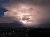 Thunder storm photos