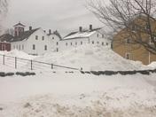 Winter day at Canterbury Shaker Village