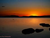 Sunrise on Misty Lake