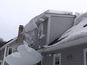 Who cares about ice dams when you have a roof glacier?