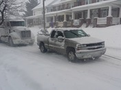 Helping a fellow Trucker in Red Lion, PA