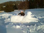 Daughter's Snow-cat