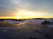 Sunrise over Scituate