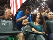 St Baldricks 2015 Shaving heads for kids with cancer sponsored by NM Fire Fighte