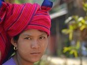 Myanmar street vendor