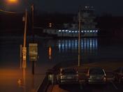Flooding in Aurora, Indiana